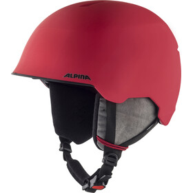 Alpina Maroi Casco Niños, red-skull matt